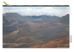 Haleakala Volcano Maui Hawaii Carry-all Pouch by Sharon Mau