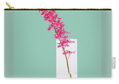 Red Orchid Bunch Carry-all Pouch by Atiketta Sangasaeng