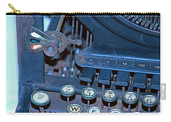 Carry-all Pouch featuring the photograph Remington 11 Detail by Kay Lovingood