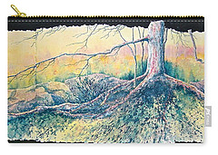 Rooted In Time Carry-all Pouch