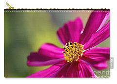 Carry-all Pouch featuring the photograph Yellow Dots by Henrik Lehnerer