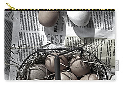 Eggs Carry-all Pouch by Joana Kruse