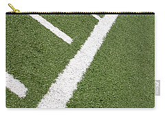 Carry-all Pouch featuring the photograph Football Lines by Henrik Lehnerer