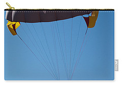 3 People Para-sailing Pachmarhi Carry-all Pouch by Ashish Agarwal