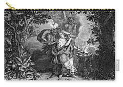 Atalanta And Meleager Carry-all Pouch by Granger