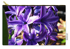 Hyacinth Named Peter Stuyvesant Carry-all Pouch by J McCombie