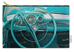 57 Chevy Bel Air Interior 2 Carry-all Pouch