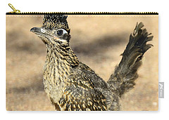 A Baby Roadrunner  Carry-all Pouch by Saija  Lehtonen