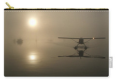 A Bad Day For Flying  Carry-all Pouch by Mark Alan Perry