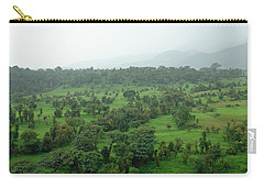 A Beautiful Green Countryside Carry-all Pouch by Ashish Agarwal