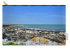 A Blue Skerries Sky Carry-all Pouch by Martina Fagan