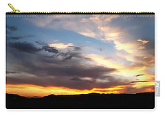Carry-all Pouch featuring the photograph A California Sunset by Glenn McCarthy Art and Photography