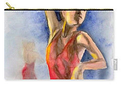 A Flamenco Dancer  2 Carry-all Pouch by Yoshiko Mishina