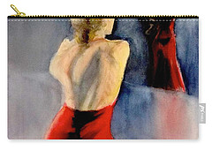 A Flamenco Dancer  3 Carry-all Pouch by Yoshiko Mishina