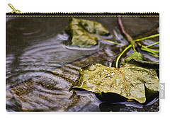 A Leaf In The Rain Carry-all Pouch