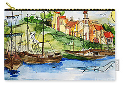A Little Fisherman's Village Carry-all Pouch