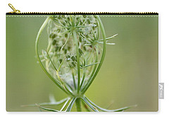 Carry-all Pouch featuring the photograph A Meal Of Lace by JD Grimes