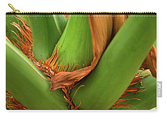 Carry-all Pouch featuring the photograph A Palmetto's Elbows by JD Grimes