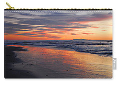 Carry-all Pouch featuring the photograph A Passion For Purple by Lynn Bauer