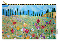 A Peaceful Place Carry-all Pouch by John Keaton