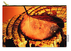 Carry-all Pouch featuring the photograph A Pose For Fall by Jessica Shelton