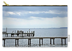 A Stormy Day On The Pamlico River Carry-all Pouch