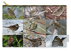 A Study In Sparrows Carry-all Pouch by Joe Faherty