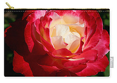 A Unique Rose Carry-all Pouch by Karen Harrison