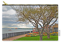 Carry-all Pouch featuring the photograph A View From The Garden by Michael Frank Jr