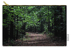 A Walk In The Park Carry-all Pouch by Karen Harrison