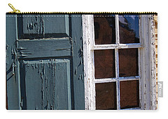 A Window Into The Past Wipp Carry-all Pouch by Jim Brage