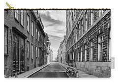 Carry-all Pouch featuring the photograph Abandoned Street by Eunice Gibb