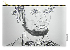 Abraham Lincoln Carry-all Pouch by John Keaton