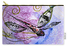 Abstract Dragonfly 6 Carry-all Pouch