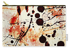 Abstract Grunge Background Carry-all Pouch