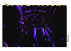 Abstract Invader Carry-all Pouch by Clayton Bruster