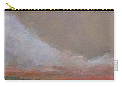 Abstract Landscape - Scarlet Light Carry-all Pouch