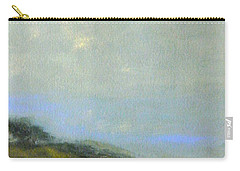 Abstract Landscape - Green Hillside Carry-all Pouch