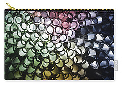 Carry-all Pouch featuring the photograph Abstract Straws by Steve Purnell
