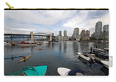 Across False Creek Carry-all Pouch by John Schneider
