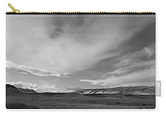Carry-all Pouch featuring the photograph Across The Valley by Kathleen Grace