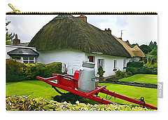 Carry-all Pouch featuring the photograph Adare Cottage by Charlie and Norma Brock