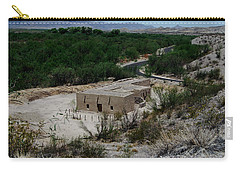 Carry-all Pouch featuring the photograph Adobe by Judy Hall-Folde