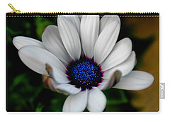 Carry-all Pouch featuring the photograph African Daisy by Lynne Jenkins