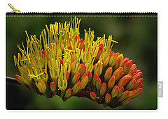 Agave Bloom Carry-all Pouch by Vicki Pelham