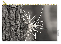 Carry-all Pouch featuring the photograph Air Fern by Judy Hall-Folde