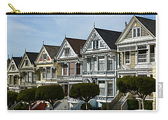 Alamo Square San Francisco California Carry-all Pouch