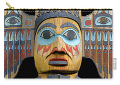Alaska Totem Carry-all Pouch