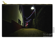Alley With Lights Carry-all Pouch