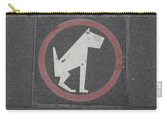 Allowed In Designated Area Carry-all Pouch